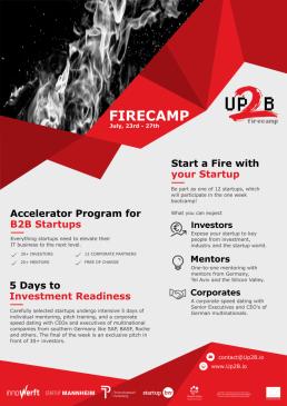 up2b-accelerator-programm-firecamp-b2b-startup-gruender-gruenden-innowerft-next-mannheim-technologierpark-heidelberg
